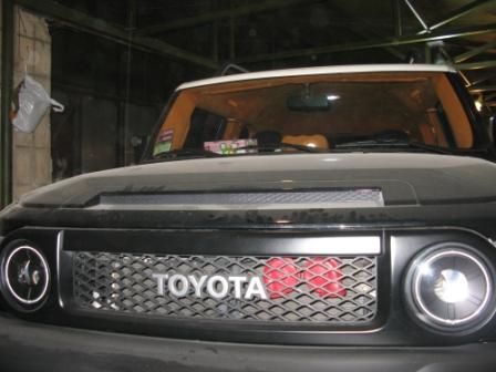Шумоизоляция Toyota FJ Cruiser
