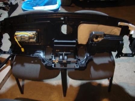 Шумоизоляция торпедо Mitsubishi Pajero Wagon 4