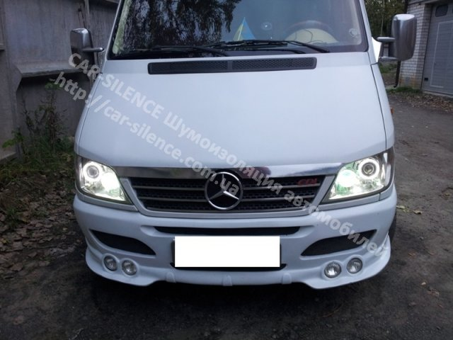 Установка биксеноновых линз в MERCEDES-BENZ SPRINTER